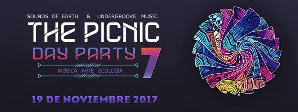 The Picnic Day Party 7 | Domingo, 19 de noviembre 2017